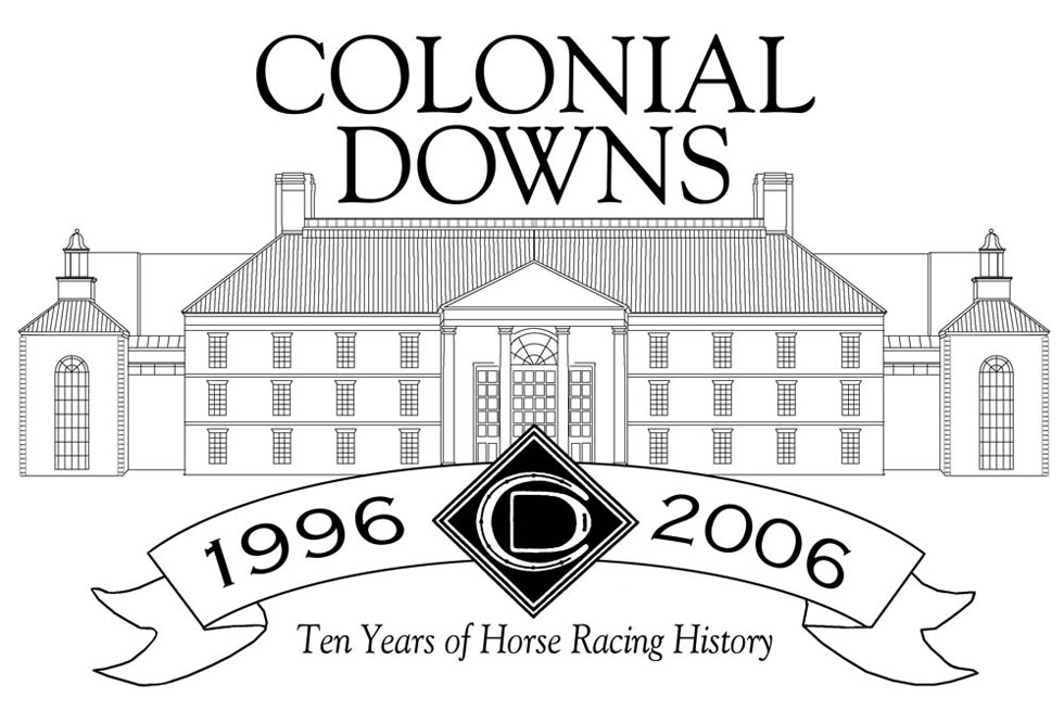 Commissioned art: Colonial Downs 10th Anniversary