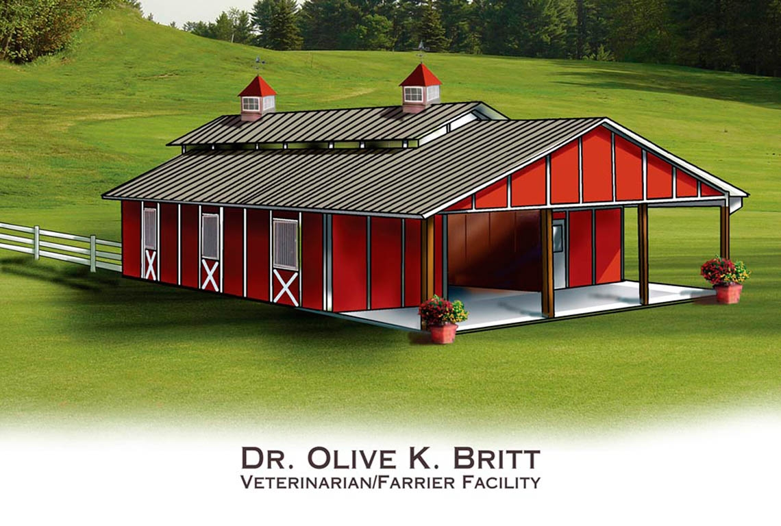 Commissioned Art: Olive K Britt Barn