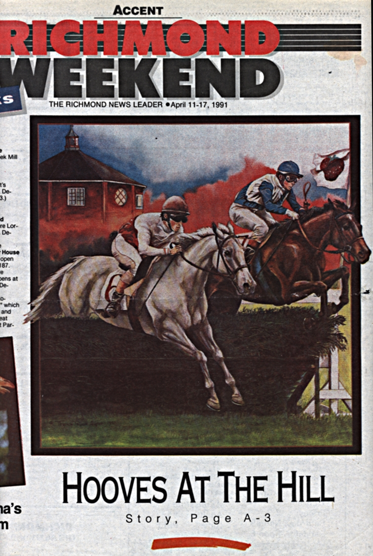 Strawberry Hill Races Poster Art