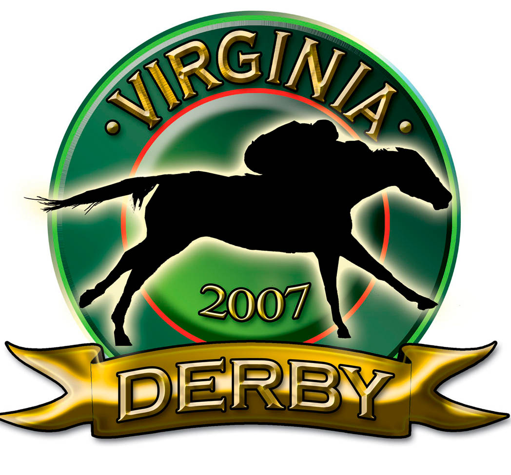 Commissioned Art: 2007 Virginia Derby Logo