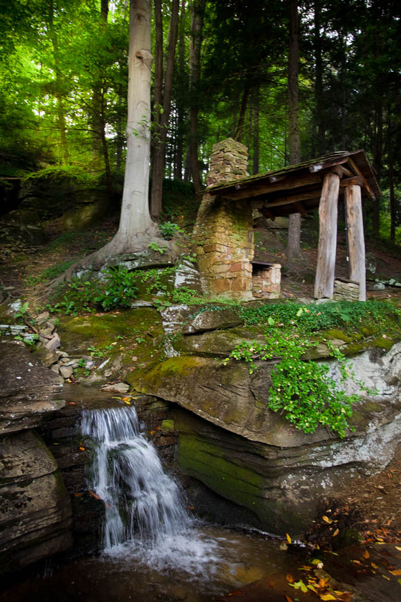 Terri-Aigner_Nature_Waterfall_and_Stone_Cottage-50-of-1