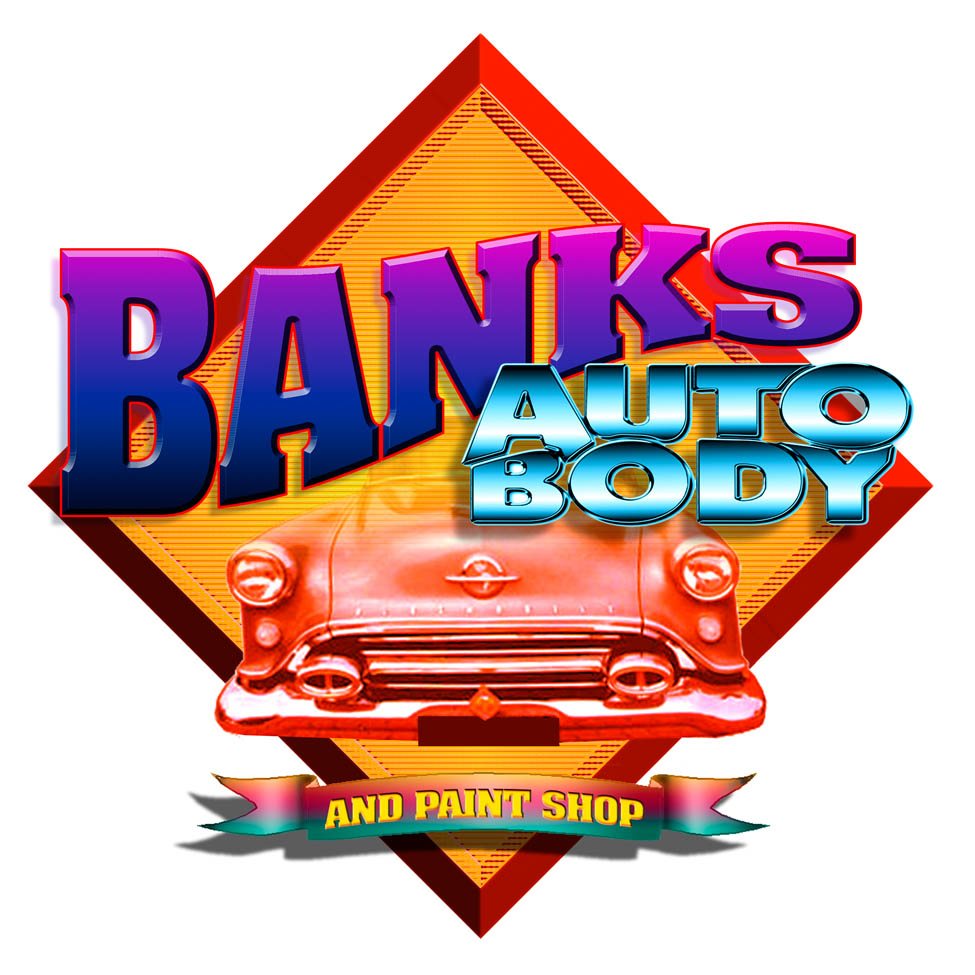 Banks Auto Body Logo