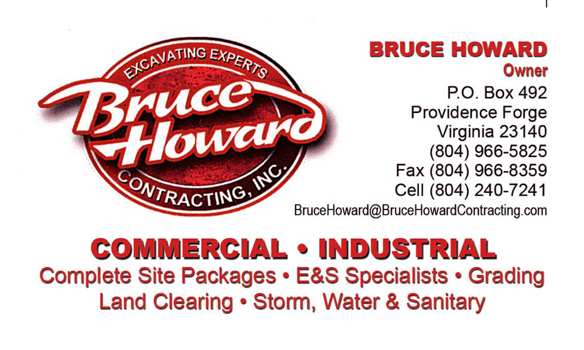 Bruce Howard Contracting Logo