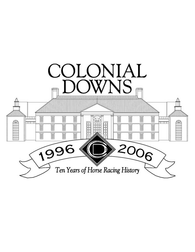 Colonial Downs 10th-Anniversary-Logo