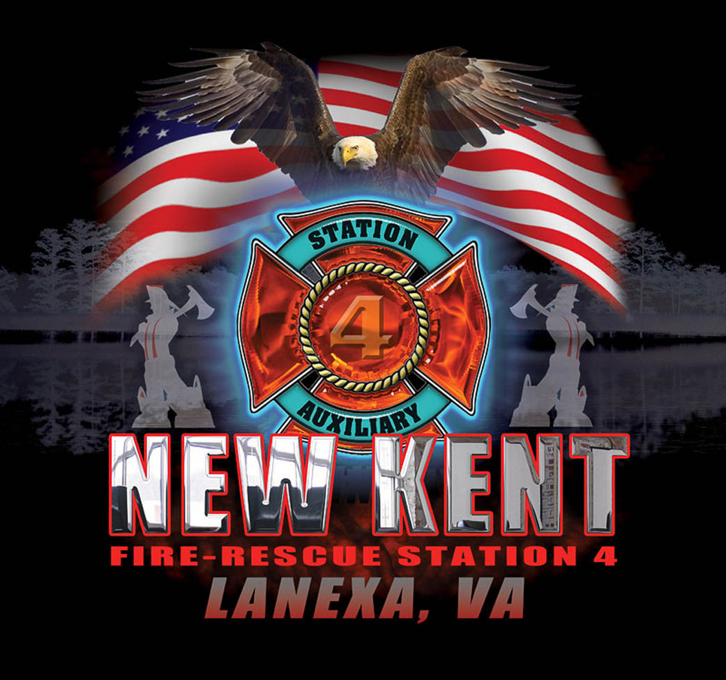 New Kent Fire Co. 4 Logo