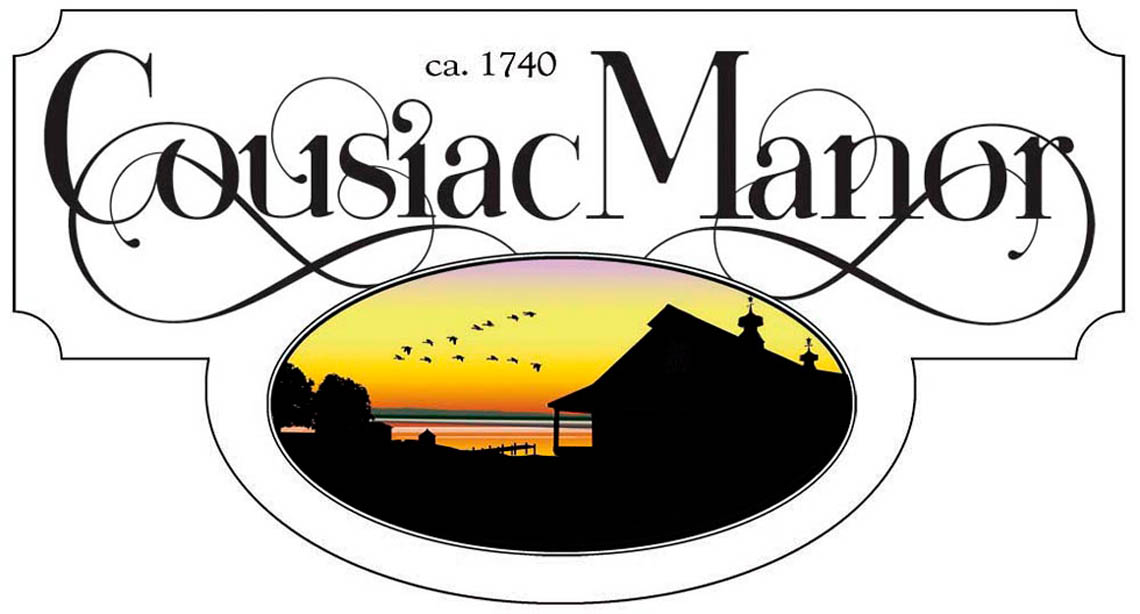 Cousiac Manor Wedding Venue Logo