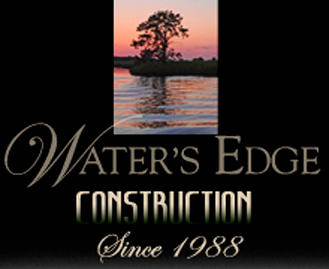 Waters Edge Construction Logo