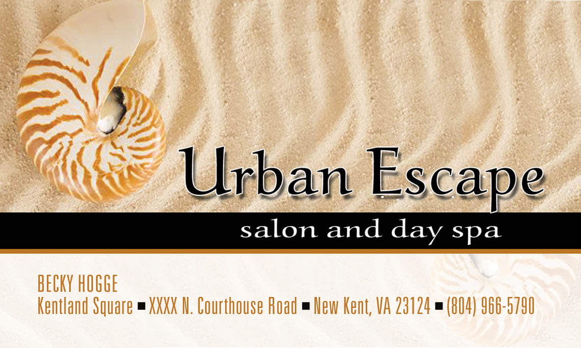 Urban Escape Salon Logo