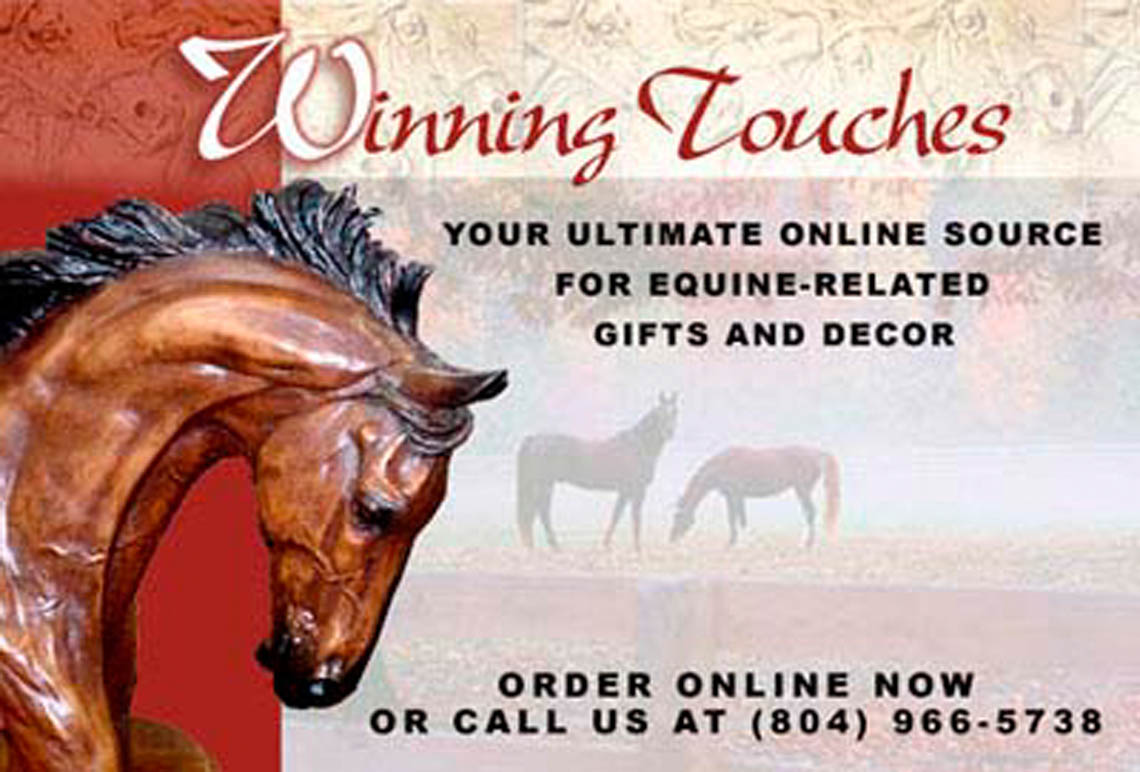 Winning Touches gift shop logo