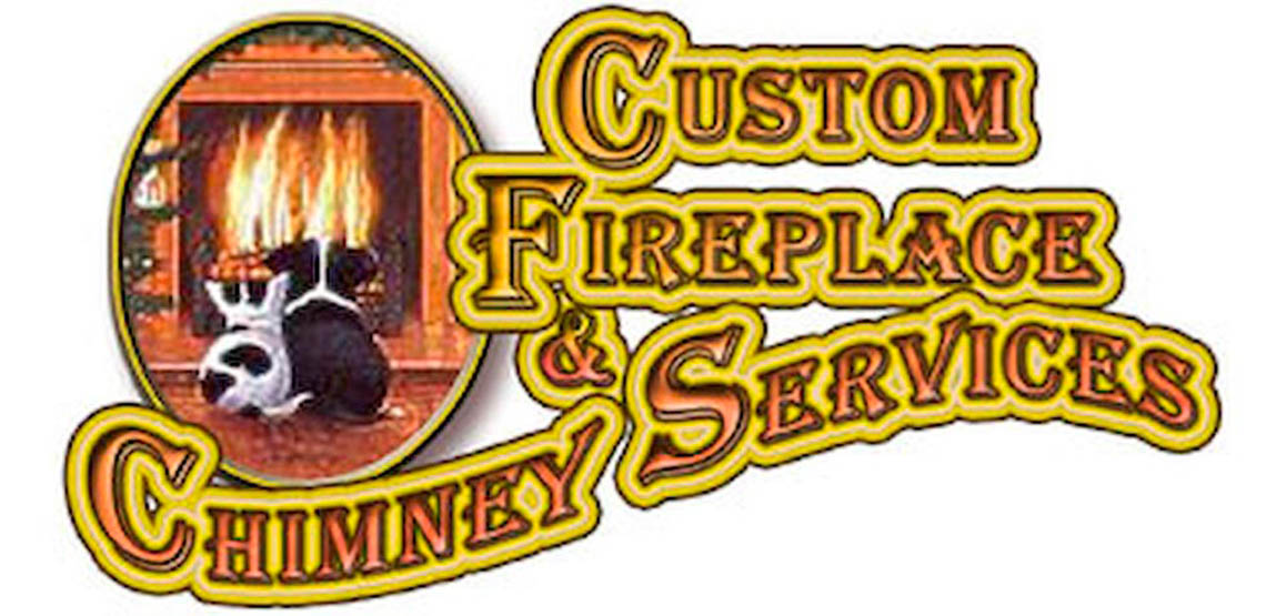 Custom Fireplace & Chimney Service Logo