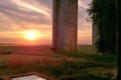 Terri-Aigner_Farm-Silos-in-Sunset-3-50-of-1-3
