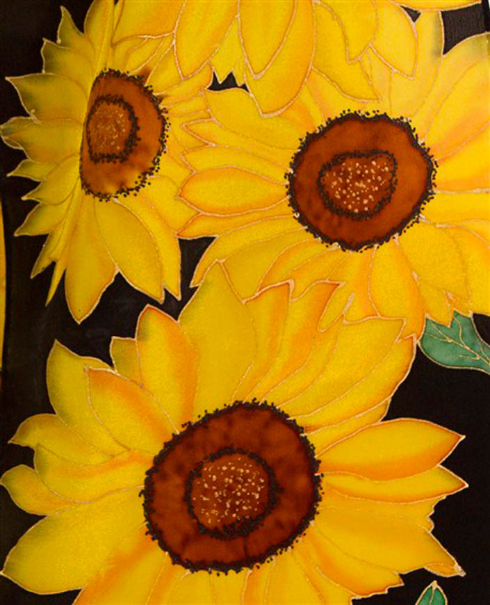09.Sunflowers_detail