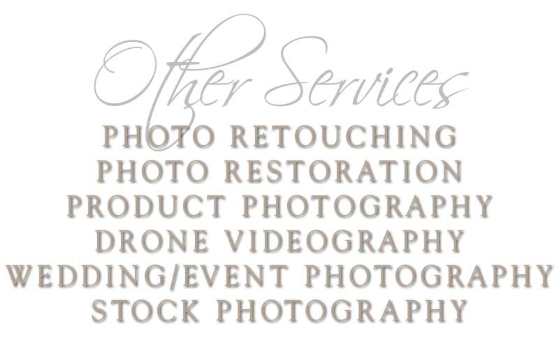 Drone VideoGraphy - Wedding & Event Photography - PHoto Retouching & More by AignerGraphics